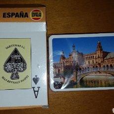 Barajas de cartas: BARAJA NAIPES PLAZA DE ESPAÑA SEVILLA NUEVA, PRECINTADA. Lote 205859375