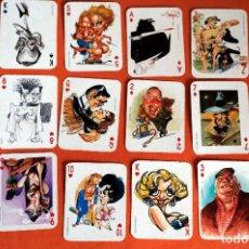 """Jeux de cartes: CARTAS NAIPES ACTORES REVISTA """"EL JUEVES"""" AÑOS 90. Lote 206150178"""