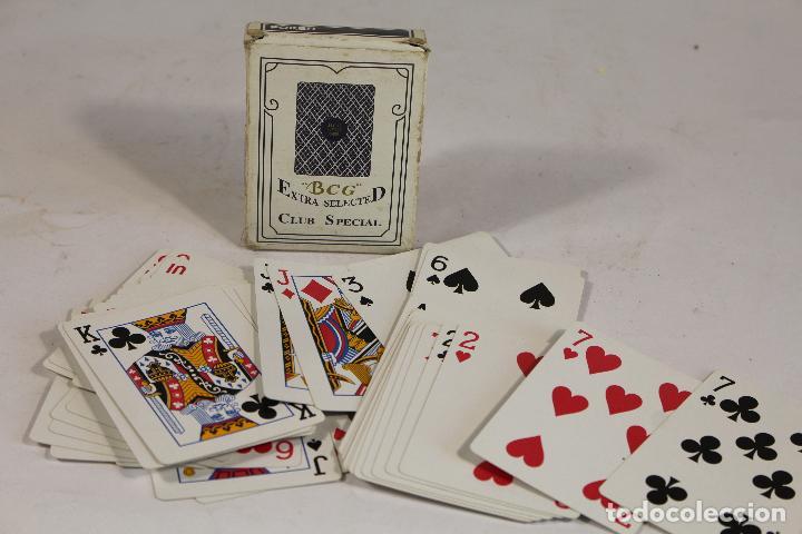 Barajas de cartas: BARAJA PÓKER / CLUB SPECIAL BCG Nº 92. PLAYING CARDS - DORSO AZUL. - Foto 2 - 206196085