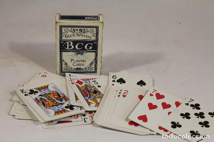 BARAJA PÓKER / CLUB SPECIAL BCG Nº 92. PLAYING CARDS - DORSO AZUL. (Juguetes y Juegos - Cartas y Naipes - Barajas de Póker)