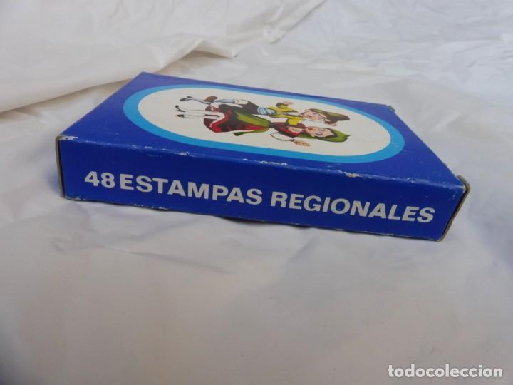 Barajas de cartas: Baraja 48 estampas regionales nueva - Foto 3 - 245897565
