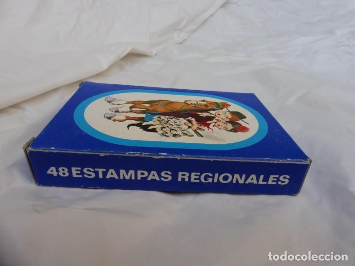 Barajas de cartas: Baraja 48 estampas regionales nueva - Foto 4 - 245897565