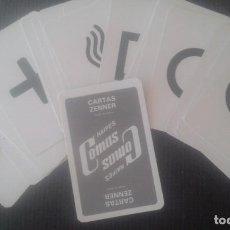 Barajas de cartas: CARTAS ZENNER. NAIPES COMAS. MADE IN SPAIN. MENTALISMO.. Lote 206317695