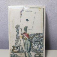 Barajas de cartas: JUEGO DE NAIPES, BARAJA DE PÓKER. REPRODUCCIÓN DE LA BARAJA DE LAS BANDERAS.FRANCIA,SIGLO XIX (1814). Lote 206399228
