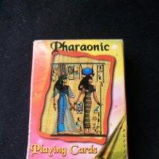 Barajas de cartas: CARTAS DE POKER DE FARAONES PHARAONIC PLAYING CARDS. EGIPTO. Lote 206411255