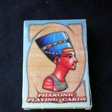 Barajas de cartas: CARTAS DE POKER DE LOS FARAONES PHARAONIC PLAYING CARDS EGIPTO.. Lote 206411262