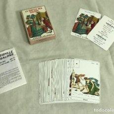 Barajas de cartas: TAROT COLECCIÓN LA SIBYLLE DES SALONS. A ESTRENAR. Lote 206476092