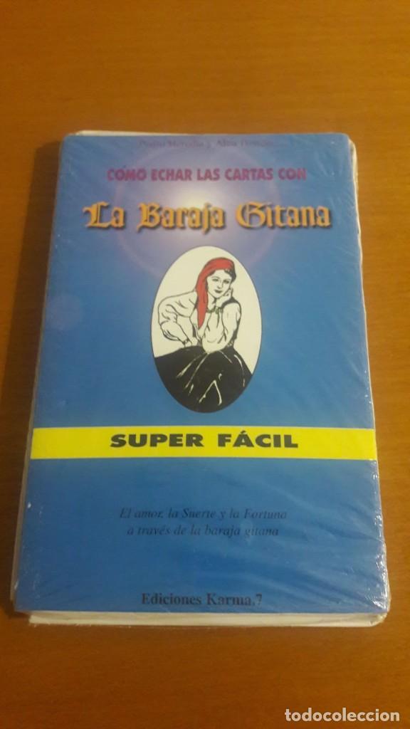 BARAJA GITANA TAROT RARA LIBRO + CARTAS PEDRO HEREDIA Y ALBA HERRERA (Juguetes y Juegos - Cartas y Naipes - Barajas Tarot)