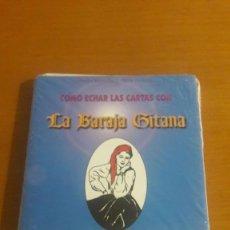 Barajas de cartas: BARAJA GITANA TAROT RARA LIBRO + CARTAS PEDRO HEREDIA Y ALBA HERRERA. Lote 206489535