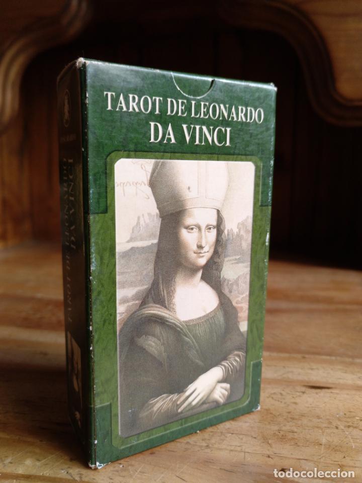 TAROT DE LEONARDO DA VINCI. (Juguetes y Juegos - Cartas y Naipes - Barajas Tarot)
