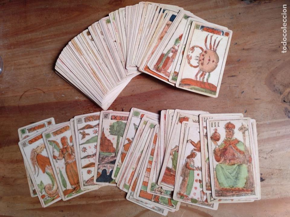 Barajas de cartas: Tarot florentino Minchiate Al Leone. Italia, 1790. Facsímil - Foto 4 - 206568993