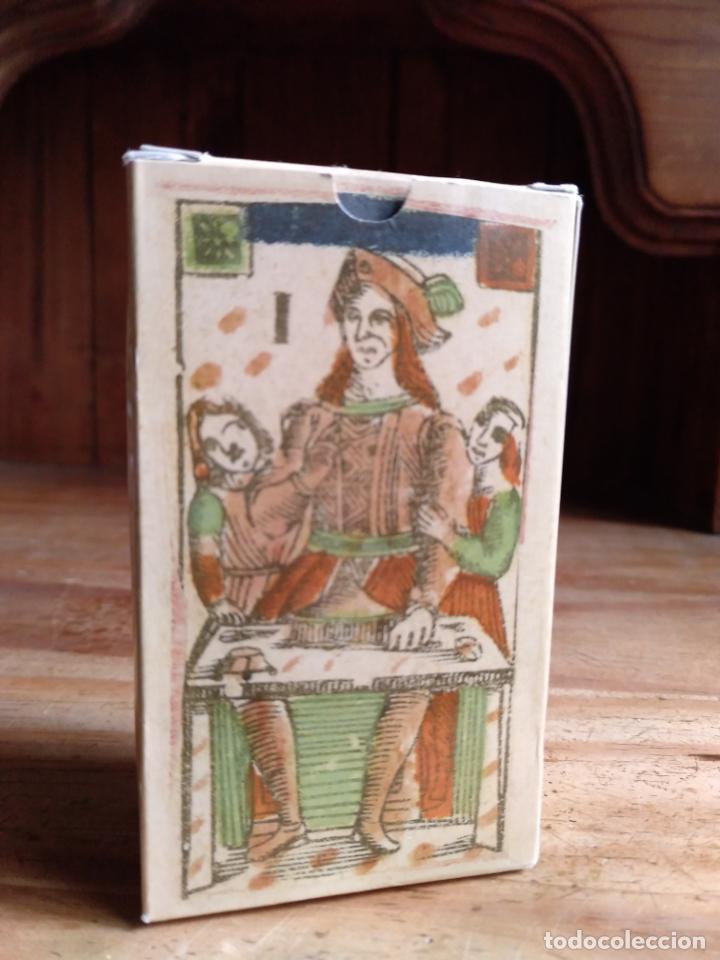 TAROT FLORENTINO MINCHIATE AL LEONE. ITALIA, 1790. FACSÍMIL (Juguetes y Juegos - Cartas y Naipes - Barajas Tarot)