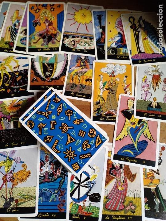 Barajas de cartas: Tarot de Carlos Pumariega. 1990. Baraja completa. Especial coleccionistas - Foto 3 - 206569740