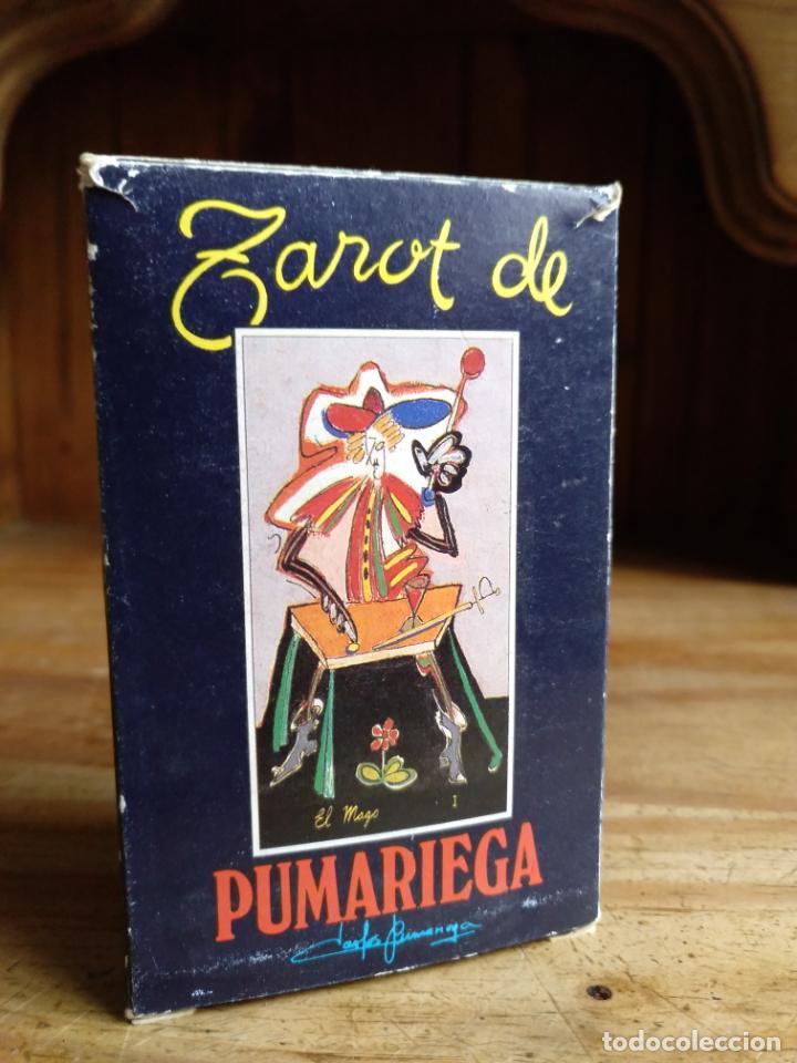 TAROT DE CARLOS PUMARIEGA. 1990. BARAJA COMPLETA. ESPECIAL COLECCIONISTAS (Juguetes y Juegos - Cartas y Naipes - Barajas Tarot)