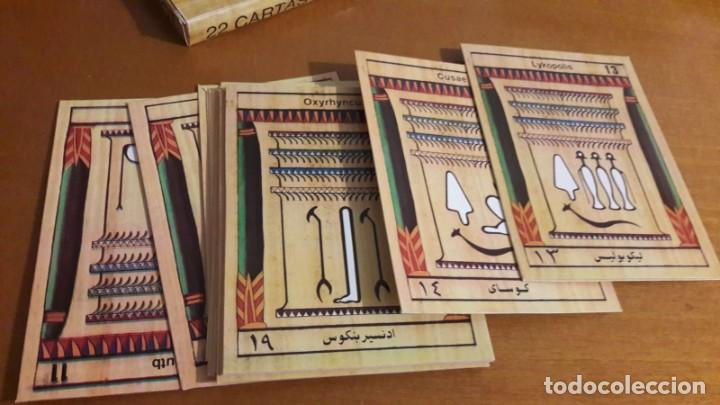 Barajas de cartas: TAROT EGIPCIO RARO CREADO POR RICHARD BRU - Foto 3 - 206582607