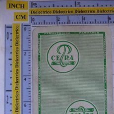 Barajas de cartas: NAIPE CARTA FOURNIER. COMODÍN JOKER. CEPA. FARMAPROINA FARMAPEN. Lote 206916198