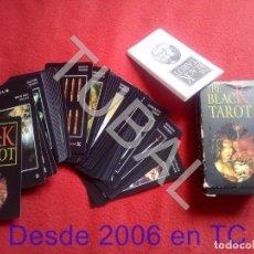 Barajas de cartas: TUBAL NUEVA BLACK TOROT CARTAS NAIPES HERACLIO FOURNIER CJ1. Lote 206920036