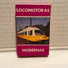 Mazzi di carte: BARAJA FOURNIER LOCOMOTORAS MODERNAS AÑOS 80. Lote 218052922