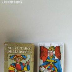 Barajas de cartas: LIQUIDACIÓN FINAL DE JUGUETES! NUEVO TAROT DE MARSELLA. A ESTRENAR.. Lote 206994880
