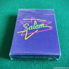 Barajas de cartas: BARAJA SALEM PRECINTADA. VINTAGE 1990. Lote 206999018