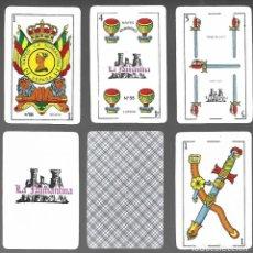 Barajas de cartas: BARAJA ESPAÑOLA NAIPES LA NUMANTINA Nº 55, DE 1983, PRECINTADA, 50 CARTAS. PRECINTADA.. Lote 207019426