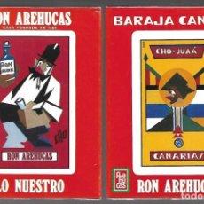 Barajas de cartas: BARAJA CHO - JUAÁ CANARIAS, RON AREHUCAS, 40 CARTAS ESPECIALES. ESTUCHE PRECINTADO SIN ESTRENAR.. Lote 207021637