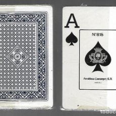 Barajas de cartas: BARAJA DE POKER Nº 818 HERALDICA CASTANYER. PRECINTADO.. Lote 207021967
