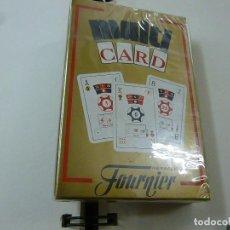 Barajas de cartas: BARAJA HERACLIO FOURNIER- MULTI CARD - PRECINTADA - N. Lote 207022268
