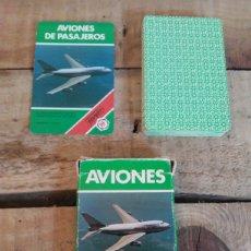 Barajas de cartas: BARAJA DE CARTAS AVIONES. Lote 207029203