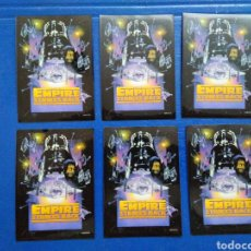 Barajas de cartas: LOTE DE 6 FUNDAS PARA CARTAS THE EMPIRE STRIKES BACK. Lote 207040340