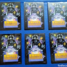 Barajas de cartas: LOTE DE 6 FUNDAS PARA CARTAS THE EMPIRE STRIKES BACK. Lote 207040388