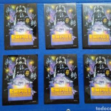 Barajas de cartas: LOTE DE 6 FUNDAS PARA CARTAS THE EMPIRE STRIKES BACK. Lote 207040432