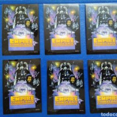 Barajas de cartas: LOTE DE 6 FUNDAS PARA CARTAS THE EMPIRE STRIKES BACK. Lote 207040483