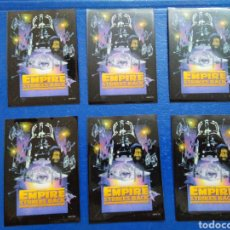 Barajas de cartas: LOTE DE 6 FUNDAS PARA CARTAS THE EMPIRE STRIKES BACK. Lote 207040536