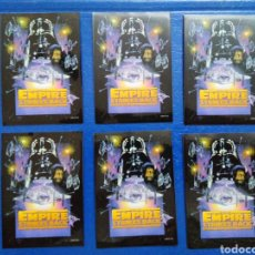 Barajas de cartas: LOTE DE 6 FUNDAS PARA CARTAS THE EMPIRE STRIKES BACK. Lote 207040751