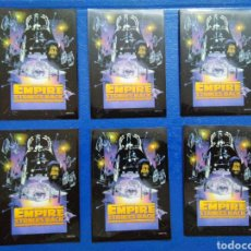 Barajas de cartas: LOTE DE 6 FUNDAS PARA CARTAS THE EMPIRE STRIKES BACK. Lote 207040863