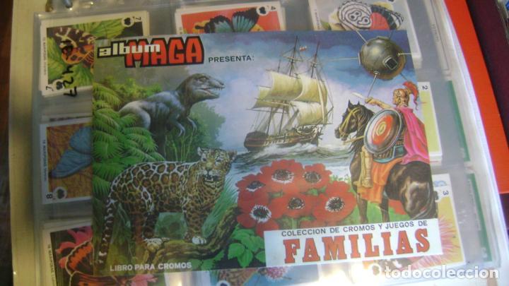 BARAJAS DE LA COLECCION COMPLETA DE FAMILIAS DE MAGA VER FOTOS Y DESCRIPCION (Juguetes y Juegos - Cartas y Naipes - Otras Barajas)