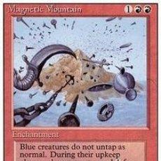 Barajas de cartas: CARTA MTG MAGIC ENCUENTRO GATHERING MAGNETIC MOUNTAIN INGLÉS EDICIÓN REVISED CUARTA 1994 RARA. Lote 207129523