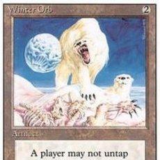 Barajas de cartas: CARTA MTG MAGIC ENCUENTRO GATHERING WINTER ORB INGLÉS EDICIÓN REVISED CUARTA 1994 RARA. Lote 207130205