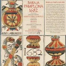 Jeux de cartes: BARAJA ESPAÑOLA PAMPLONA 1682-AÑO 2018. Lote 207138257