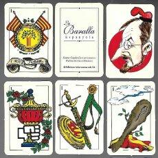Barajas de cartas: BARAJA, LA BARALLA ESPANYOLA, REGIO 7. NUEVA. 48 CARTAS + 9 + 1, EDICIONS INTERCOMARCALS. NUEVA.. Lote 207269148