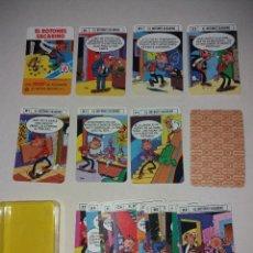 Barajas de cartas: BARAJA MINI DE FOURNIER Nº 20 EL BOTONES SACARINO, 24 CARTAS + 1, SIN ESTRENAR EN SU ESTUCHE. Lote 207407480