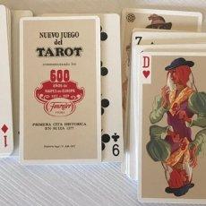 Barajas de cartas: BARAJA DEL TAROT FOURNIER REGIÓN ALPINA. Lote 207475181