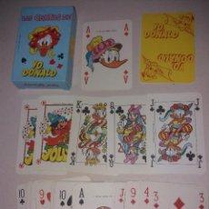 Barajas de cartas: BARAJA LAS CARTAS DE YO, DONALD DE 1986. IMPECABLE. SIN ESTRENAR.. Lote 207489536