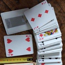Barajas de cartas: BARAJA CARTAS POKER SILVA THINS(CIGARRILLOS AMERICANOS) AÑOS 60-70. Lote 207523388