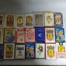 Barajas de cartas: LOTE DE 24 BARAJAS DE CARTAS.. Lote 207570870