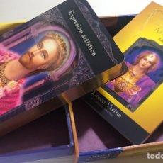Baralhos de cartas: BARAJA DEL DE LOS MAESTROS ASCENDIDOS CONTIENE LIBRO EXPLICATIVO. Lote 207850700