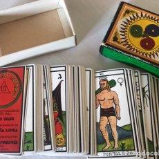 Barajas de cartas: BARAJA DEL TAROT FOURNIER EL GRAN TAROT ESOTÉRICO. Lote 207863552
