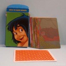 Barajas de cartas: BARAJA INFANTIL - FOURNIER - EL LIBRO DE LA SELVA - DISNEY. Lote 207904698