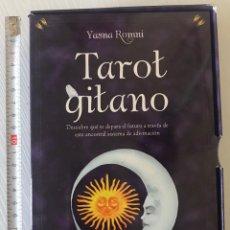 Barajas de cartas: BARAJA DEL TAROT GITANO CONTIENE LIBRO EXPLICATIVO. Lote 207925537